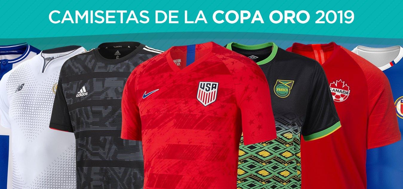 Camisetas de la Copa Oro 2019