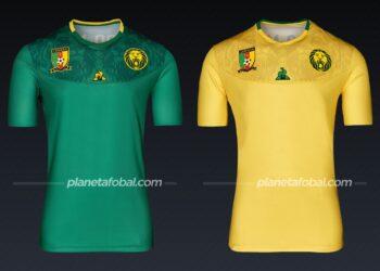 Camerún (Le Coq Sportif) | Camisetas de la Copa Africana de Naciones 2019