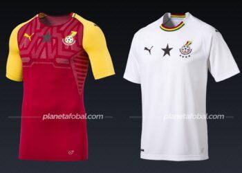 Ghana (Puma) | Camisetas de la Copa Africana de Naciones 2019