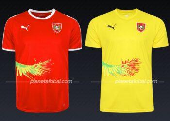Guinea-Bisáu | Camisetas de la Copa Africana de Naciones 2019