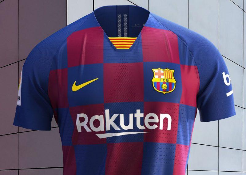 Nueva camiseta titular 2019-2020 del Barcelona   Imagen Nike