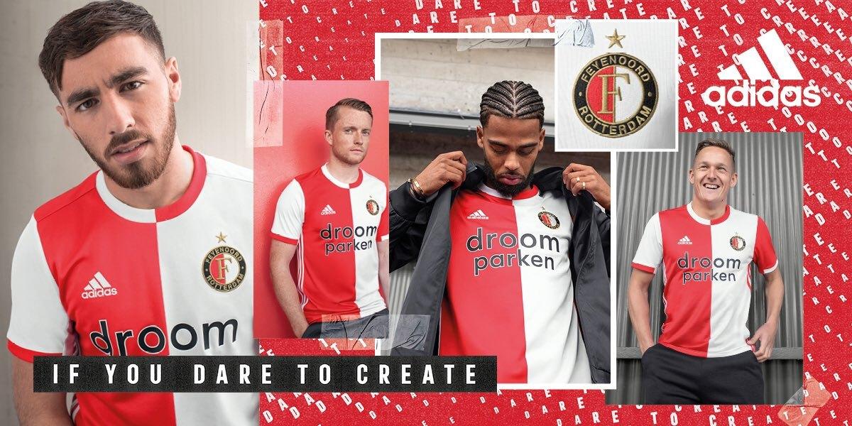Camiseta titular Adidas del Feyenoord 2019/20 | Imagen Web Oficial