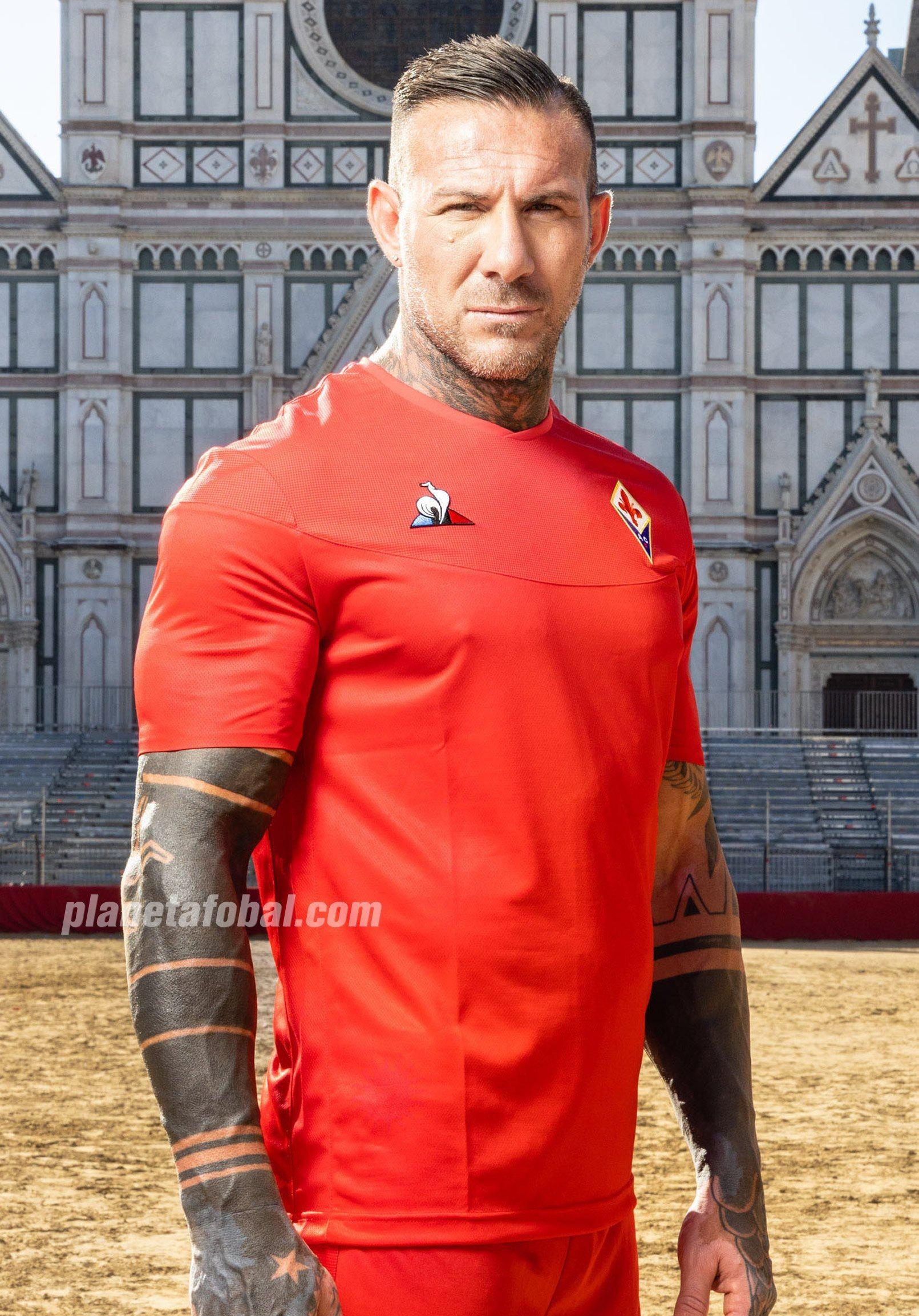 Camisetas alternativas le coq sportif de la Fiorentina 2019/20 | Imagen Web Oficial