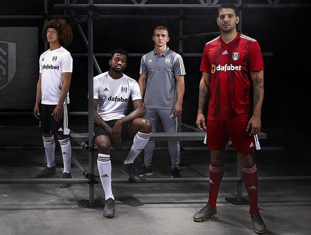 Camisetas Adidas del Fulham 2019/20 | Imagen Web Oficial