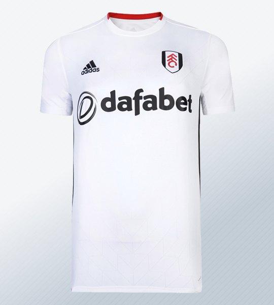 Camiseta titular Adidas del Fulham 2019/20 | Imagen Web Oficial