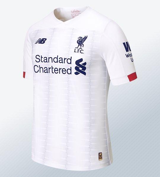 Camiseta suplente del Liverpool 2019/2020 | Imagen New Balance