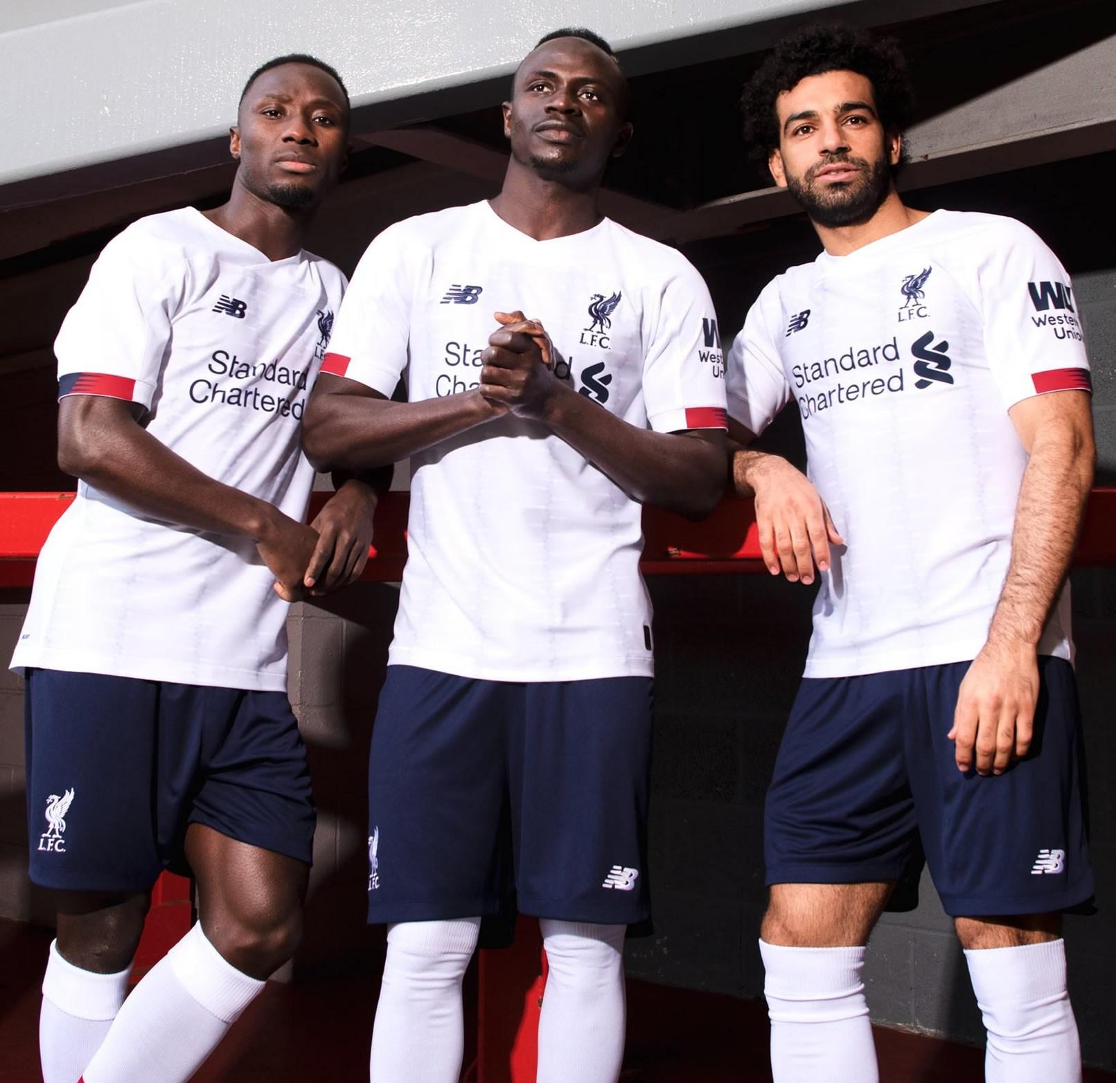 Camiseta suplente New Balance del Liverpool 2019/2020 | Imagen Twitter Oficial