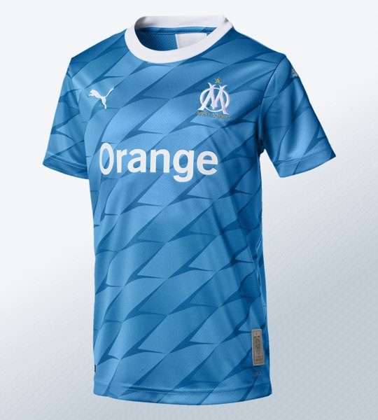 Camiseta suplente del Olympique Marsella 2019/20 | Imagen Puma