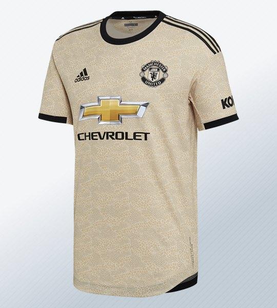 Camiseta suplente del Manchester United 2019/2020 | Imagen Adidas