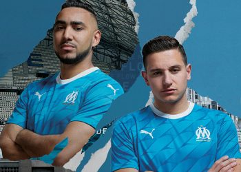 Camiseta suplente del Olympique Marsella 2019/20 | Imagen Captura