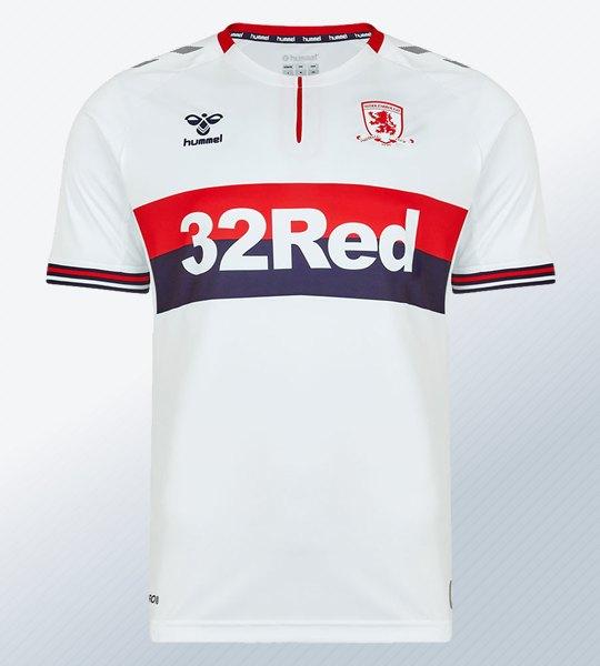 Camiseta suplente Hummel del Middlesbrough FC 2019/20 | Imagen Web Oficial