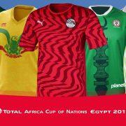 Camisetas de la Copa Africana de Naciones 2019 | @planetafobal