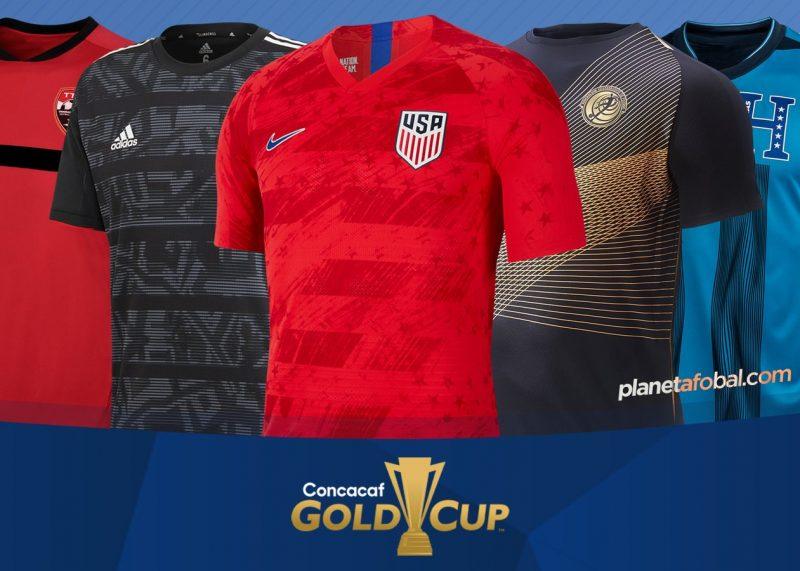 Camisetas de la Copa Oro 2019 | @planetafobal