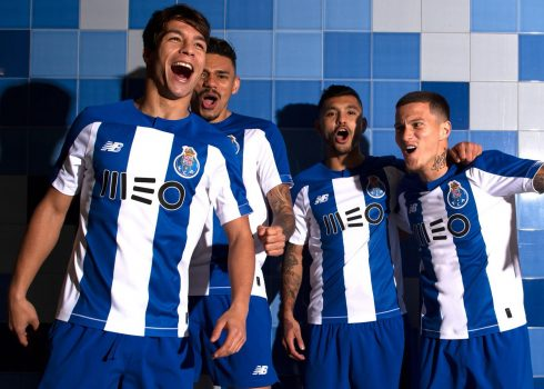 Camiseta New Balance del Porto 2019/20 | Imagen Twitter Oficial