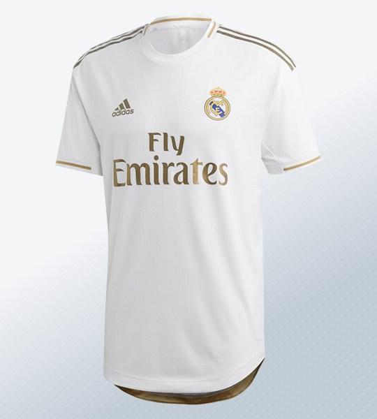 Camiseta del Real Madrid 2019/2020 | Imagen Adidas