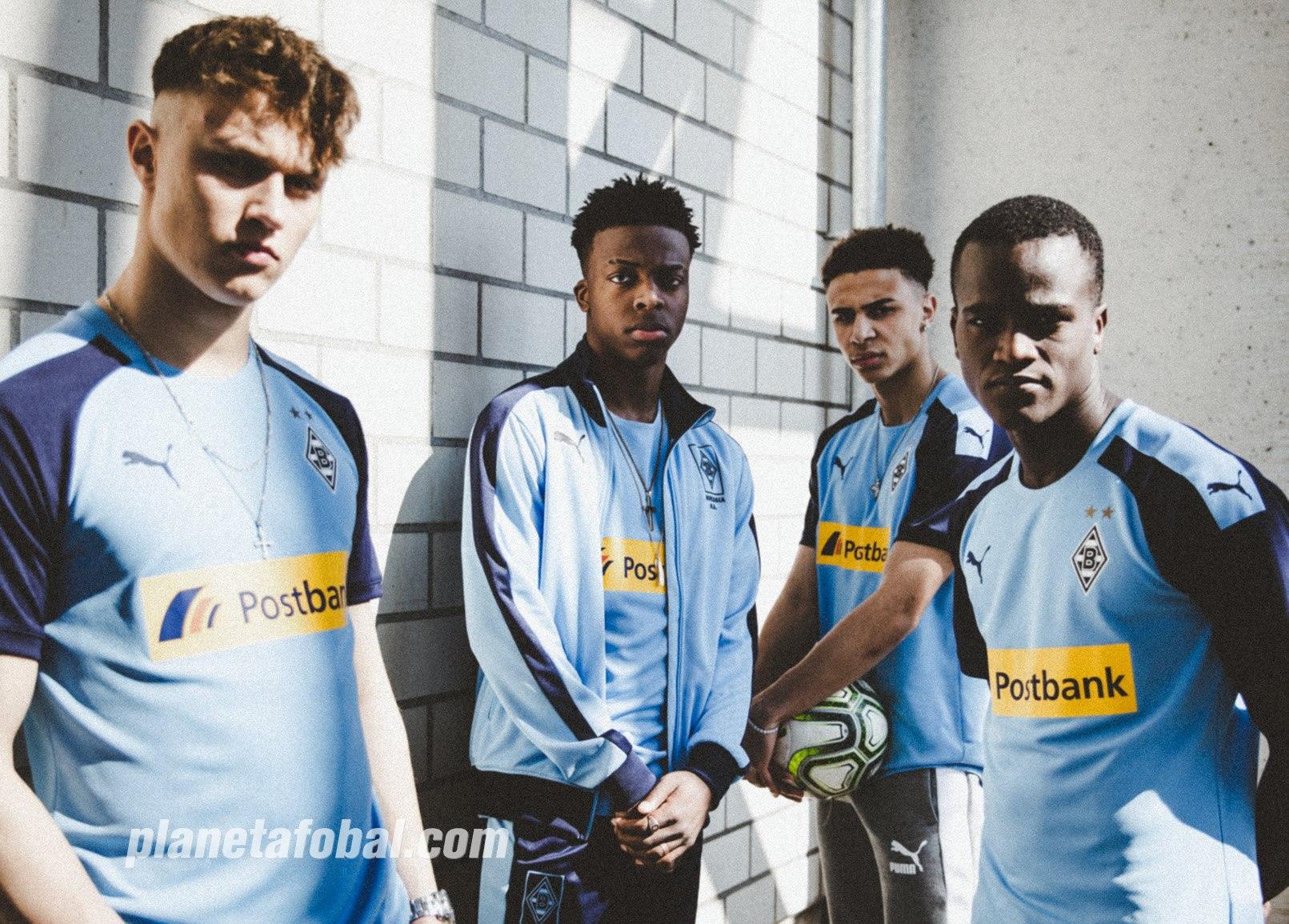 Camiseta suplente del Borussia Mönchengladbach 2019/20 | Imagen Puma