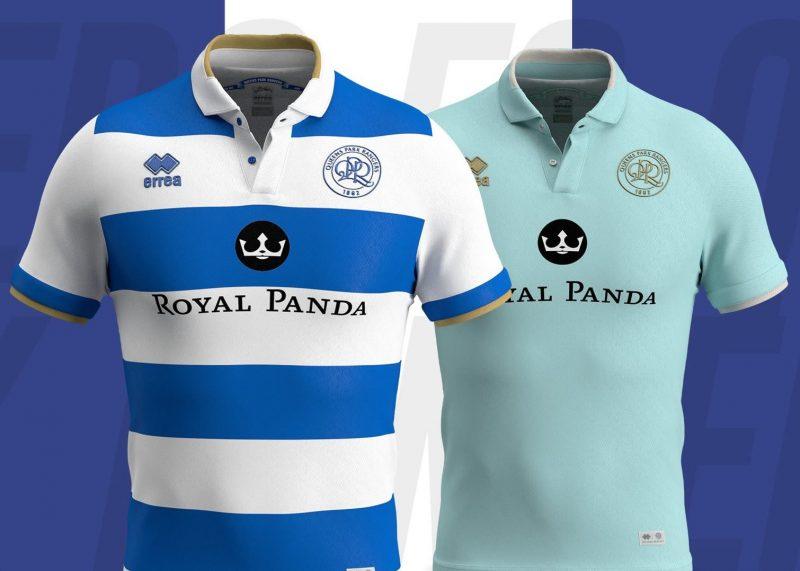 Camisetas Erreà del QPR 2019/20 | Imagen Web Oficial