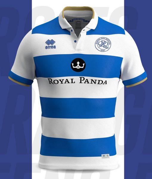 Camiseta titular Erreà del QPR 2019/20 | Imagen Web Oficial