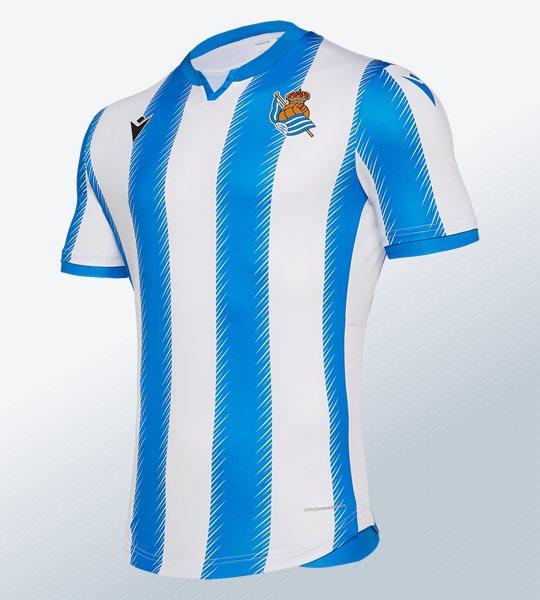 Equipación local de la Real Sociedad 2019/20 | Imagen Macron