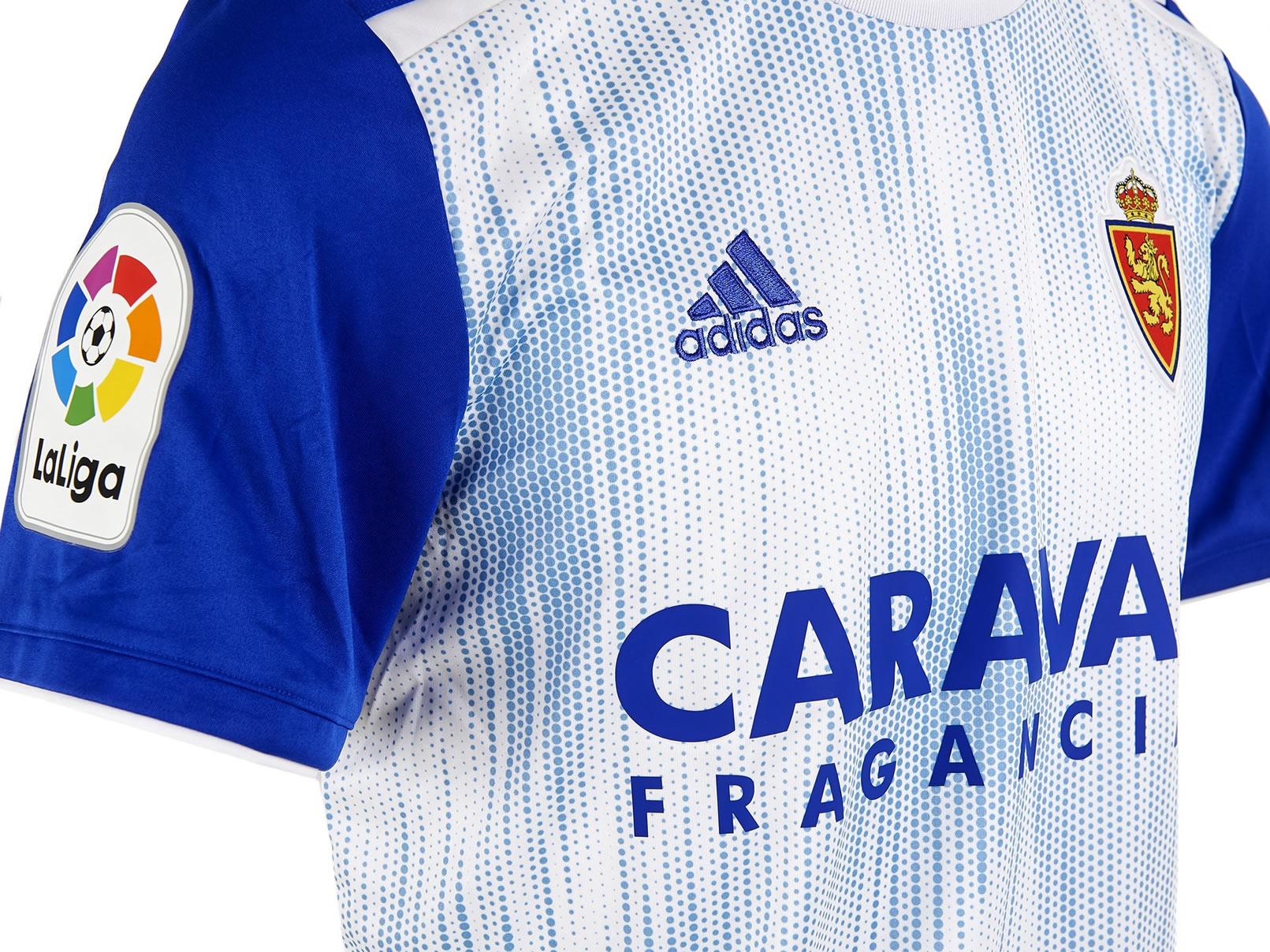 Equipación local Adidas del Zaragoza 2019/2020 | Imagen Web Oficial