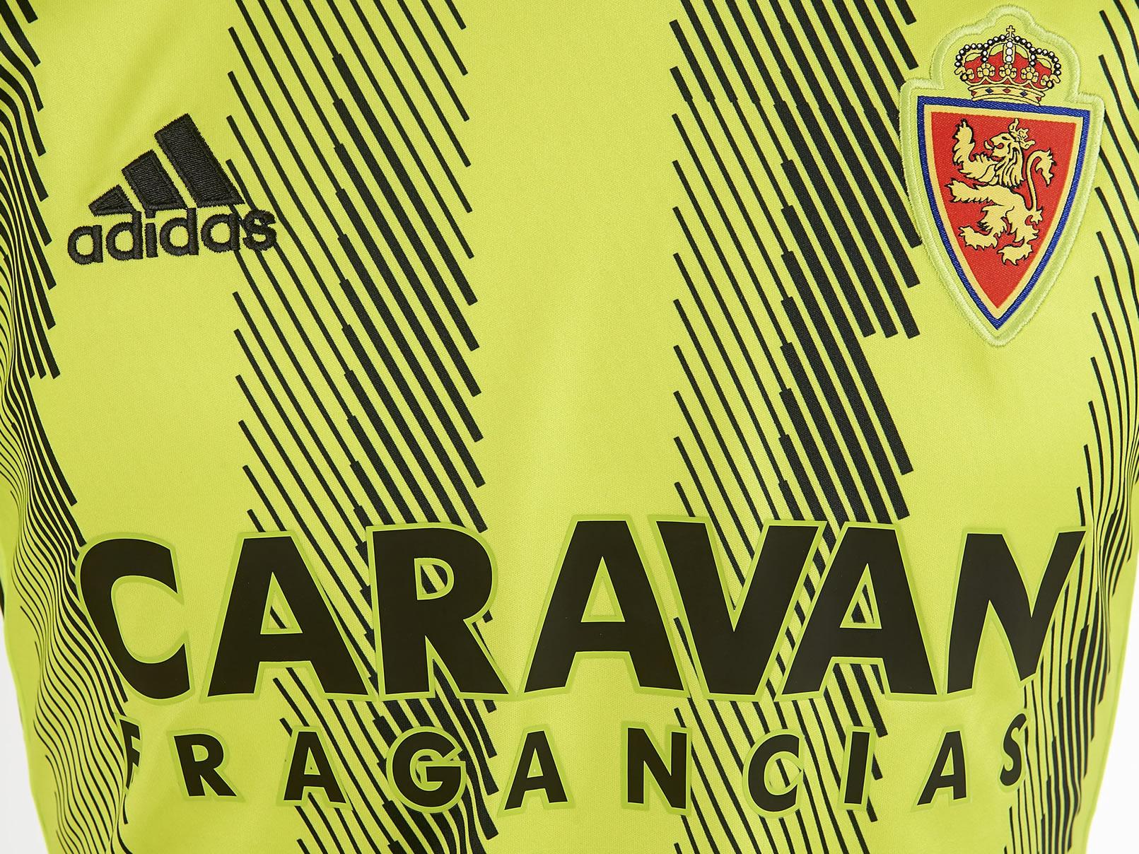 Equipación visitante Adidas del Zaragoza 2019/2020 | Imagen Web Oficial