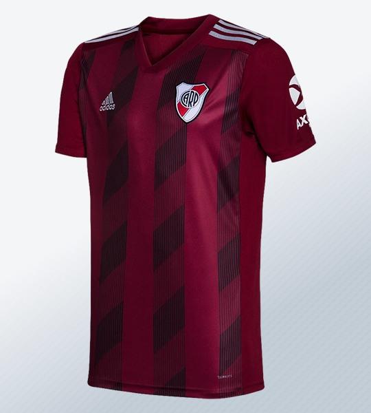 Camiseta Adidas granate de River Plate 2019/20 | Imagen Web Oficial