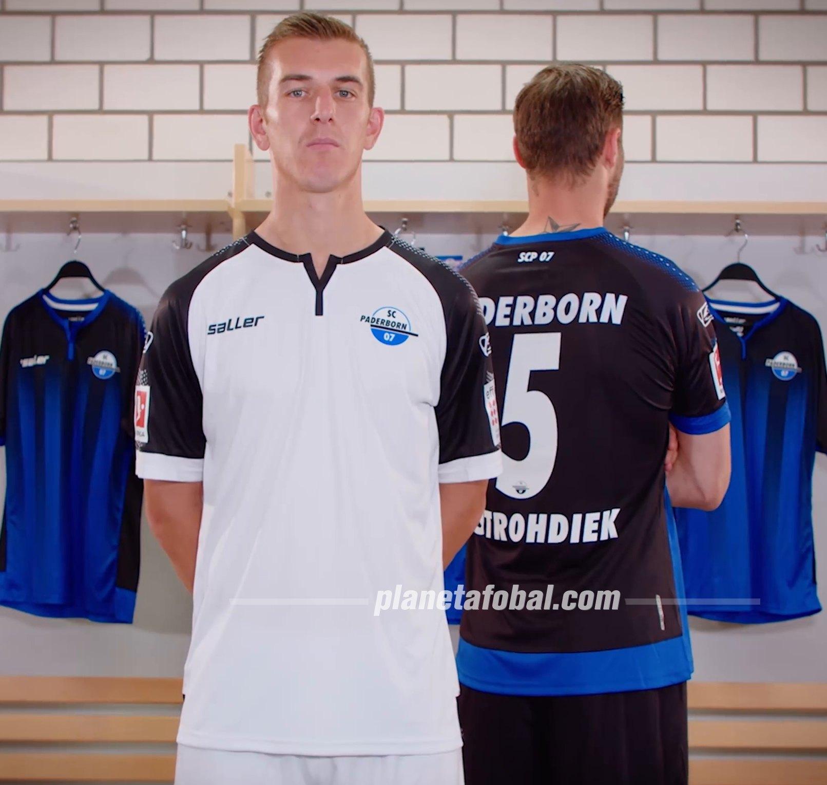 Camisetas Saller del SC Paderborn 07 2019/20