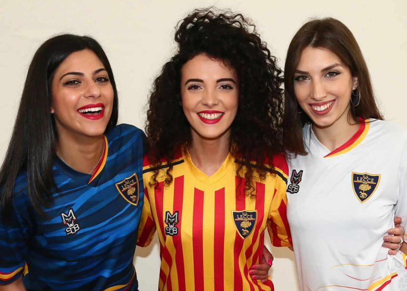 Camisetas M908 del Lecce 2019/2020   Imagen Web Oficial