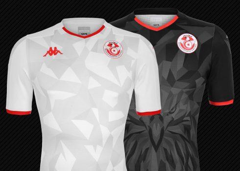 Camisetas de Túnez Copa Africana de Naciones Egipto 2019 | Imágenes Kappa