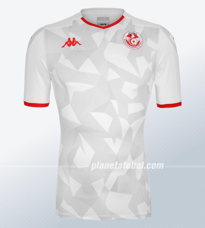 Camiseta titular de Túnez 2019/20 | Imagen Kappa