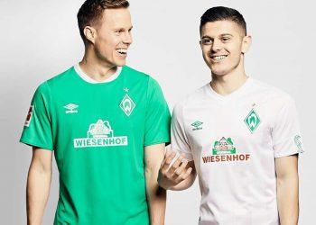 Camisetas Umbro del Werder Bremen 2019/20 | Imagen Web Oficial