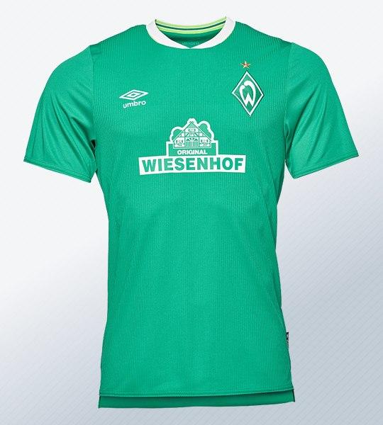 Camiseta titular Umbro del Werder Bremen 2019/20   Imagen Web Oficial