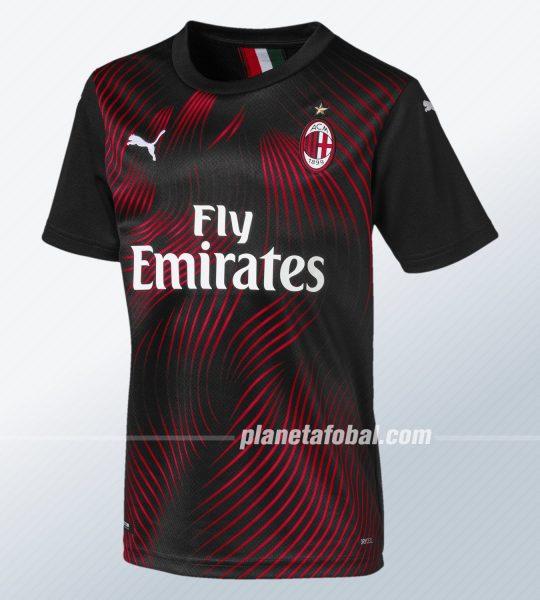 Tercera camiseta del AC Milan 2019/2020 | Imagen Puma