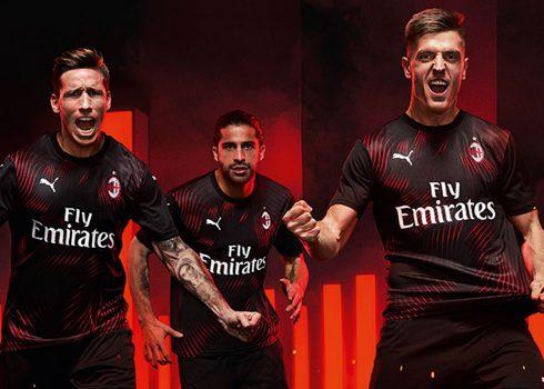 Tercera camiseta Puma del AC Milan 2019/2020 | Imagen Web Oficial