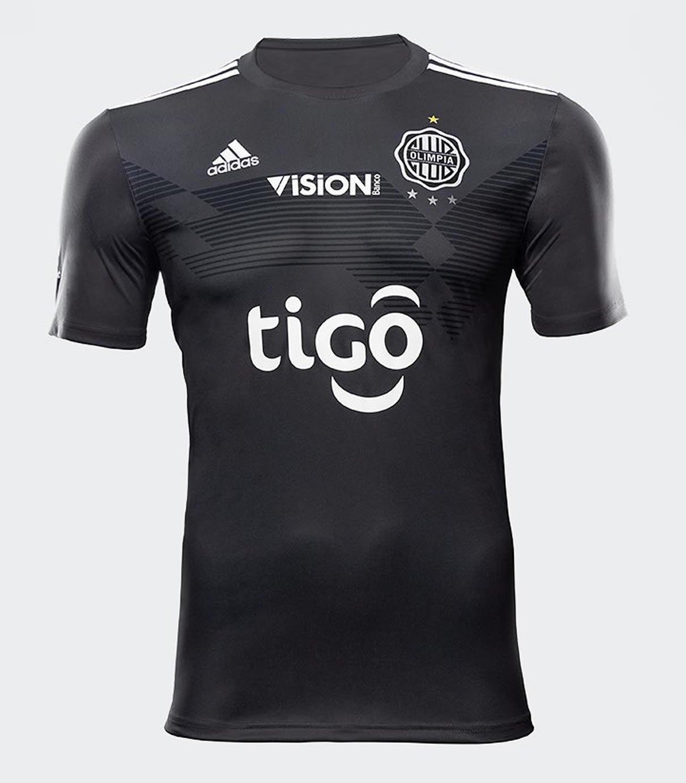 Camiseta alternativa Adidas del Club Olimpia 2019/20 | Imagen Doral SA
