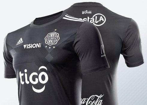 Camiseta alternativa Adidas del Club Olimpia 2019/20   Imagen Doral SA