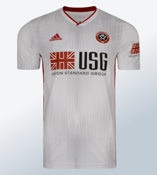 Camiseta alternativa Adidas del Sheffield United 2019/20 | Imagen Web Oficial