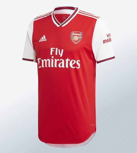 Camiseta titular del Arsenal 2019/2020 | Imagen Adidas