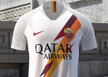 Camiseta suplente de la Roma 2019/2020 | Imagen Nike