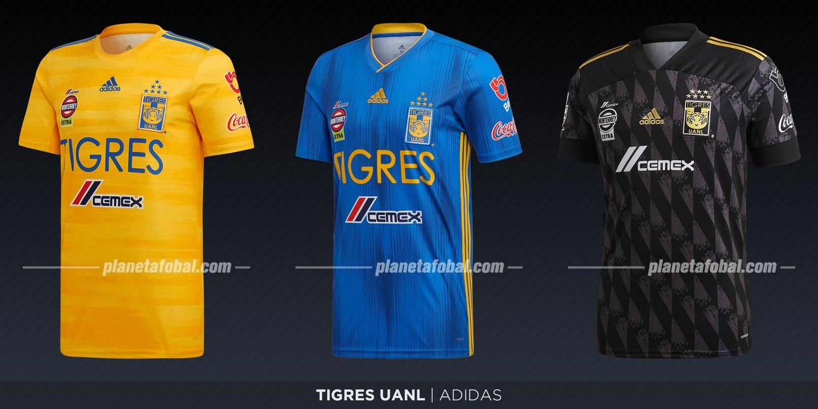 Tigres de la UANL (Adidas) | Camisetas de la Liga MX 2019-2020