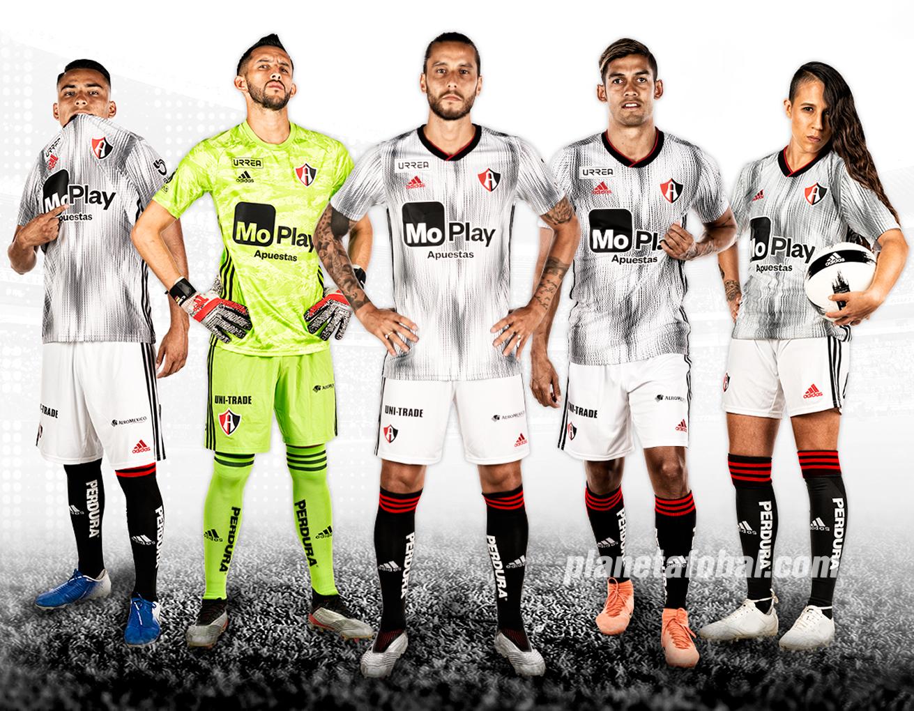 Camiseta visita Adidas del Atlas FC 2019/2020 | Imagen Web Oficial