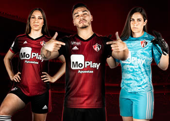Camiseta local Adidas del Atlas FC 2019/2020   Imagen Web Oficial