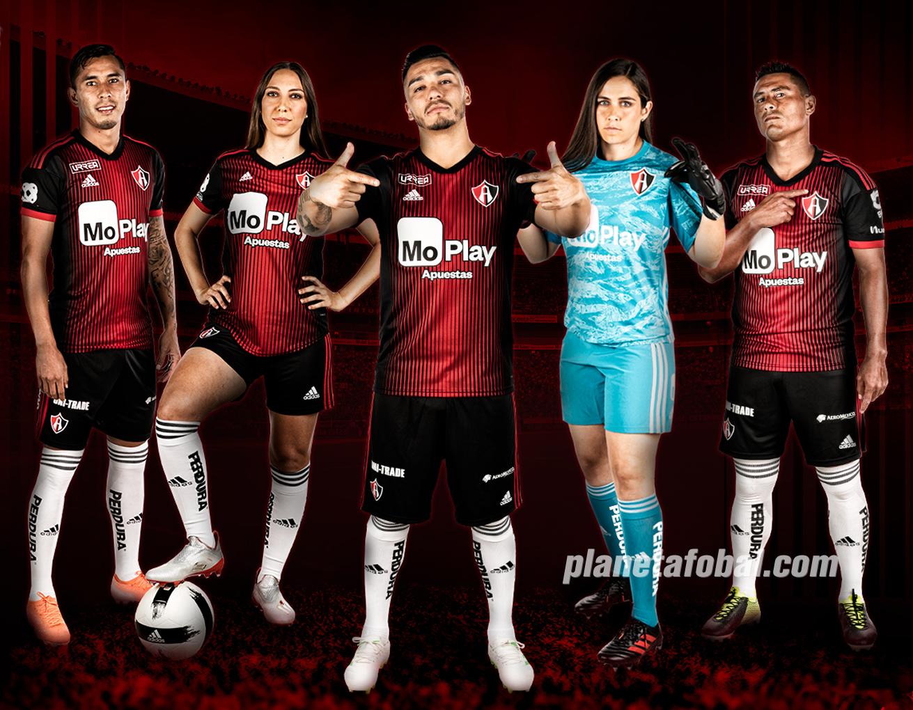 Camiseta local Adidas del Atlas FC 2019/2020 | Imagen Web Oficial