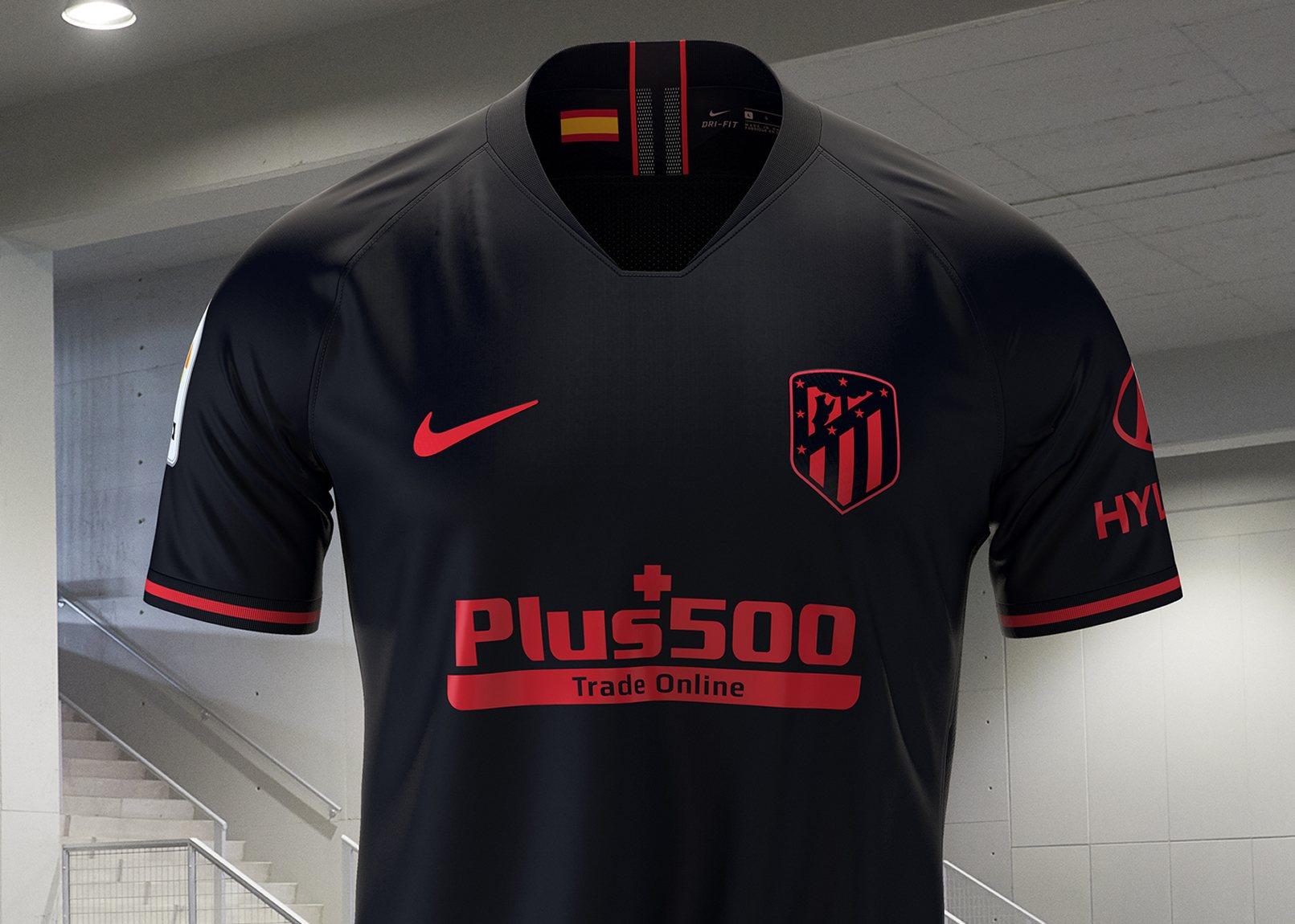 camiseta nike atletico 2020