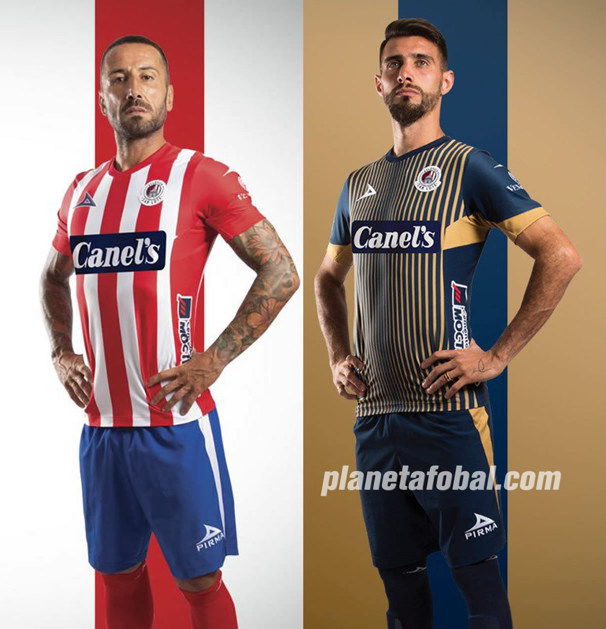Jerseys del Atlético de San Luis 2019/2020 | Imagen Pirma