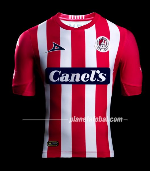 Jersey local Pirma del Atlético de San Luis 2019/2020 | Captura