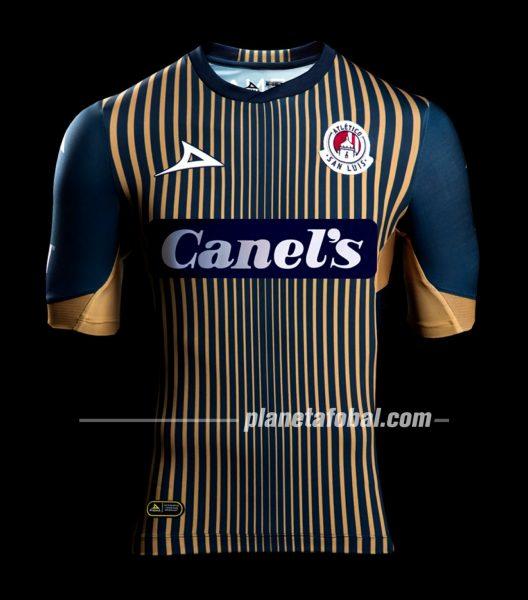 Jersey visita Pirma del Atlético de San Luis 2019/2020 | Captura