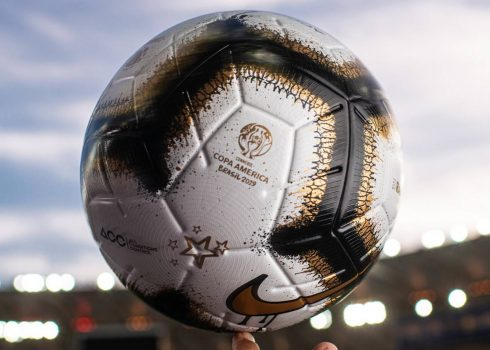 Balón Nike Rabisco Final de la Copa América 2019 | Imagen CONMEBOL