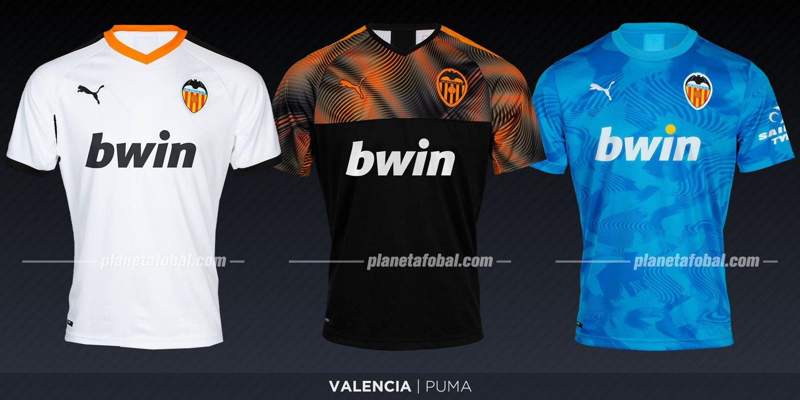 Valencia CF (Puma) | Camisetas de LaLiga 2019-2020