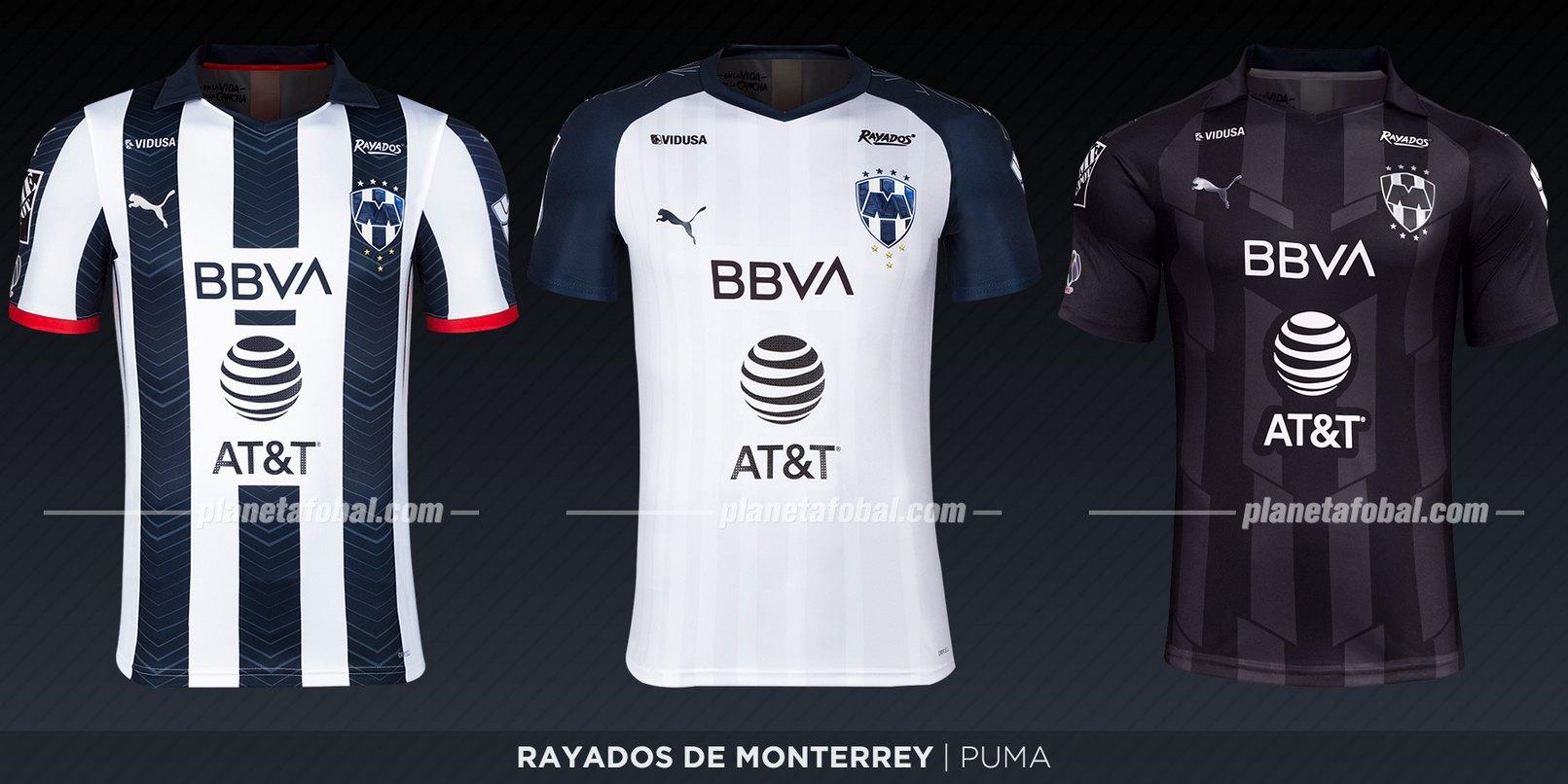 Rayados de Monterrey (Puma) | Camisetas de la Liga MX 2019-2020